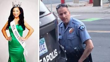 Schönheitskönigin Kellie C.: Der Polizist, der George Floyd auf den Boden drückte – seine Frau will die Scheidung