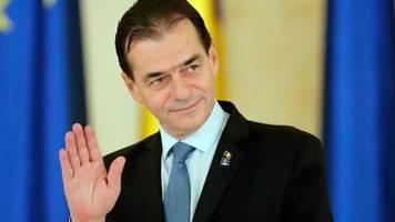 Kleine Geburtagsfeier: Party im Regierungsbüro: Rumäniens Premier verstößt gegen Corona-Regeln