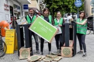 Müll: Verein startet Aktion gegen Pizzakarton-Müll in Berlin
