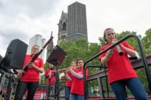 Musik: Deutsches Symphonie-Orchester spielt Pop-up-Konzerte