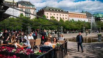 Pandemie: Wachstum im ersten Quartal - Schwedens Wirtschaft kommt besser durch die Krise