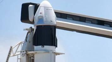 Cape Canaveral: Zweiter Startversuch für zwei US-Astronauten zur ISS