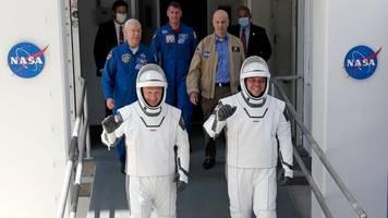 SpaceX: Nasa schickt erfolgreich US-Astronauten zur ISS
