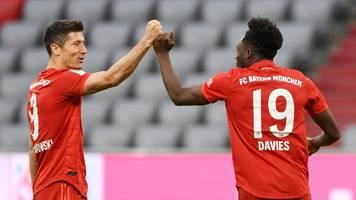 Fünf Treffer: Bayern München demontiert hilflose Fortuna