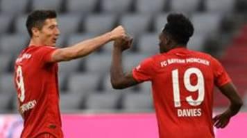 Fußball-Bundesliga: Bayern mit Kantersieg gegen Düsseldorf