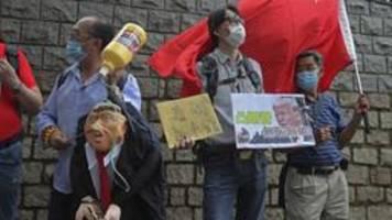 Hongkongs Regierung weist Trump-Drohungen zurück