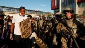 polizeigewalt in den usa: das muss aufhören