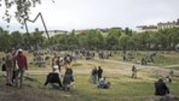 Görlitzer Park: Dem Park ist sogar Corona egal