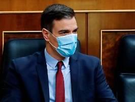 Arbeit zu Ende bringen: Spaniens umstrittener Notstand soll andauern