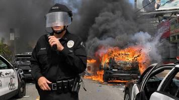 Nach dem Tod von George Floyd: Proteste und Gewalt in US-Städten – Trump will Antifa als Terrororganisation einstufen lassen