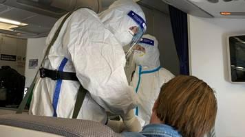 Corona-News: Corona-Fall unter deutschen Passagieren auf Rückflug nach China