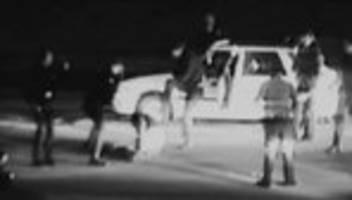 Polizeigewalt: Schwarz-Weiß-Bilder