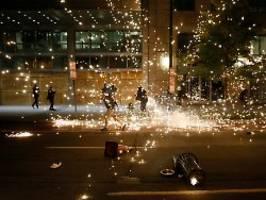 Proteste auch vor Weißem Haus: USA erleben weitere Nacht der Gewalt