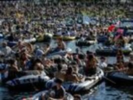 Polizei beendet am Pfingstsonntag Techno-Rave in Kreuzberg mit 3000 Teilnehmern