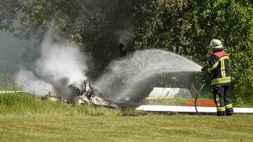 Nachrichten aus Deutschland: Pilot stirbt bei Absturz von Segelflieger – Retter finden Leiche in brennendem Wrack