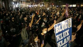 George Floyd: Nach erneuten Protesten: Ausgangssperre auch in New York möglich