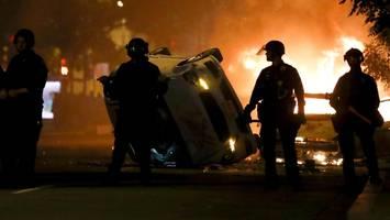 Ausschreitungen in den USA: Die brennenden Staaten von Amerika