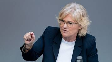 bundesjustizministerin: mord an lübcke tiefer einschnitt