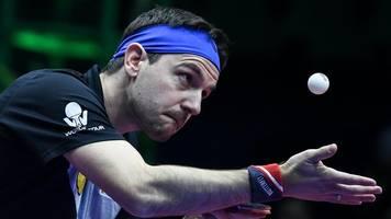Düsseldorf Masters - Tischtennis-Stars spielen wieder: Boll im Halbfinale
