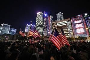 Nach umstrittenem Sicherheitsgesetz für Hongkong - China und USA im Konflikt - Außenminister Maas will vermitteln