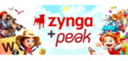 zynga trifft vereinbarung zur Übernahme von peak, istanbul, schöpfer der auf spitzenplätzen rangierenden mobil-franchise toon blast und toy blast
