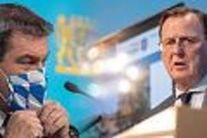 Zu viele oder zu wenig Lockerungen? - Söder gegen Ramelow: Was hinter dem Lockerungsstreit in Bayern und Thüringen steckt