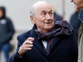 Ex-Fifa-Präsident freut sich: Schweiz stellt Ermittlung gegen Blatter ein