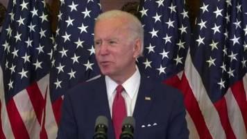 Video: Biden - Tötung von George Floyd ist Weckruf für die USA