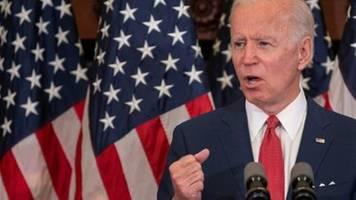 Biden: Trump hat die USA in ein Schlachtfeld verwandelt