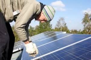 Erneuerbare Energien: Ministerium sucht im ganzen Land nach den Sonnengemeinden