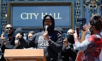 Stars protestieren gegen Polizeigewalt