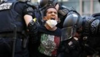 Vereinigte Staaten: Proteste trotz Ausgangssperre