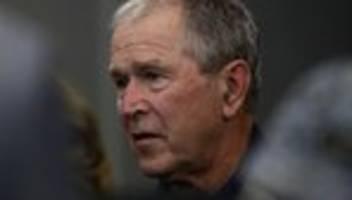Tod von George Floyd: George W. Bush kritisiert systematischen Rassismus in den USA