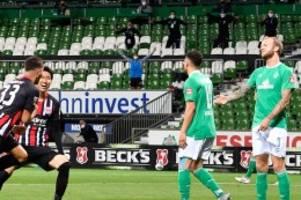 0:3 gegen frankfurt: herber rückschlag für werder bremen im abstiegskampf