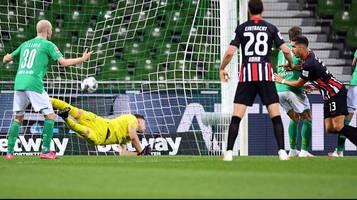 Bundesliga: Werder Bremen verliert im Nachholspiel gegen Eintracht Frankfurt