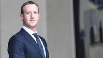 Facebooks Umgang mit Trump: Zuckerberg bleibt stur