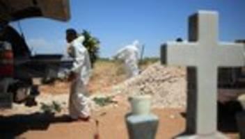 Covid-19-Todesfälle: Brasilien und Mexiko melden Rekord an Corona-Toten