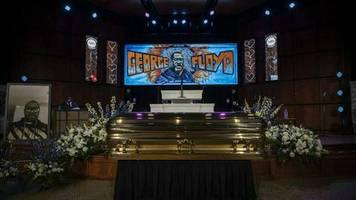 George Floyd: Hunderte kommen zu Trauerfeier in Minneapolis