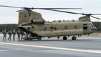 usa: kritik an trump nach bericht über truppenabzugspläne