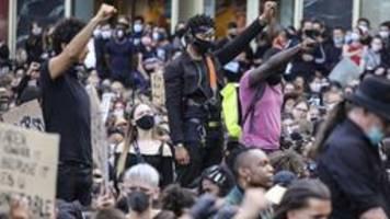 Fall George Floyd: Bundesweit Demos gegen Rassismus