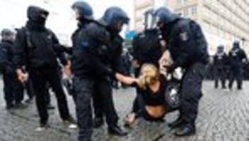 Protest: Ausschreitungen und Verletzte nach Demos in Berlin