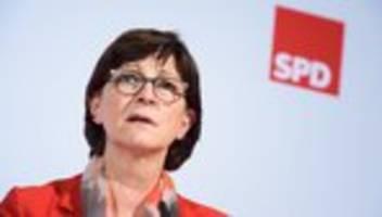 saskia esken: latenter rassismus bei sicherheitskräften auch in deutschland
