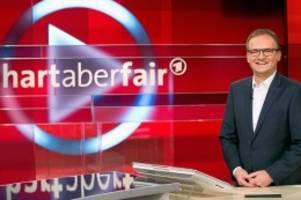 """ard-talk: """"hart aber fair"""": habeck drängt fleischindustrie in die ecke"""