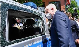 krawalle in stuttgart: polizei fordert alkoholverbot und sperrstunde