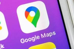 Die Feature-Fülle von Google Maps