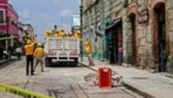 Oaxaca: Mindestens sechs Tote nach Erdbeben im Süden Mexikos