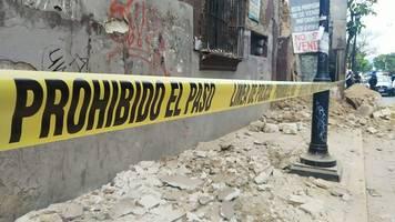 Tote nach schwerem Erdstoß: Mehr als 1700 Nachbeben in Mexiko