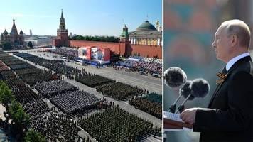 Sieg über Nazi-Deutschland: Putin inszeniert riesige Militärparade – trotz Corona