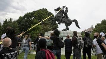 400 nationalgardisten in washington zum schutz von statuen mobilisiert