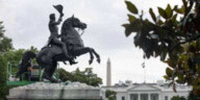 trump schützt statuen: rassismus von ganz oben